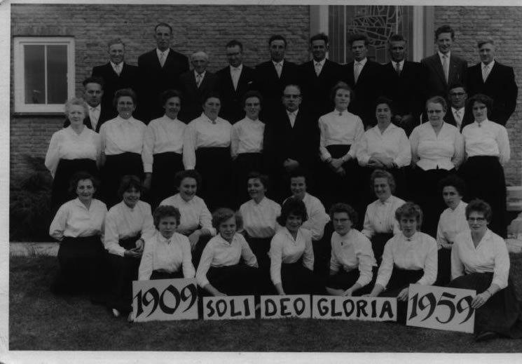Koor Soli Deo Gloria Herwijnen - 1959