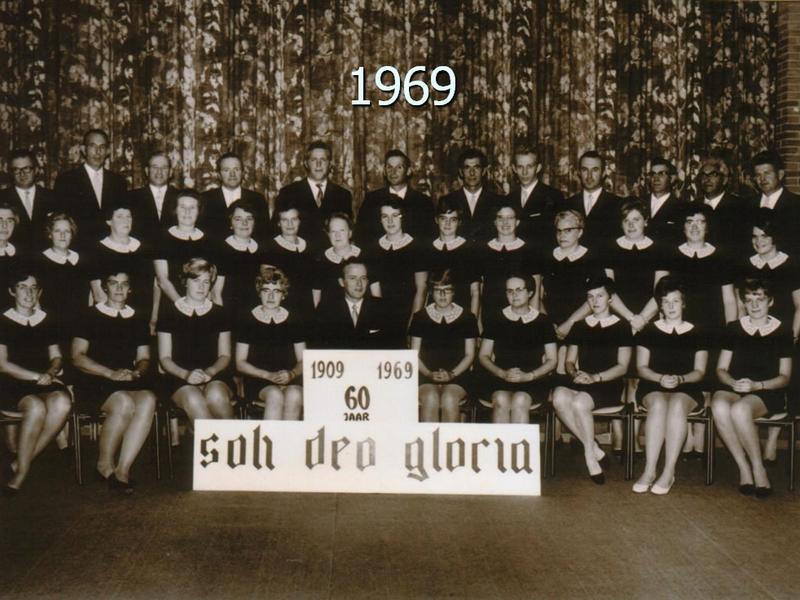 Koor Soli Deo Gloria Herwijnen - 1969